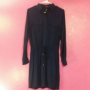 NWT Ralph Lauren women's size 4P long sleeve dress